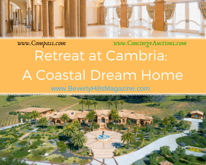 Retreat at Cambria: A Coastal Dream Home #USA #dreamhomes #realestate #homesforsale #newjersey #beverlyhills #beverlyhillsmagazine #luxury #exclusive #luxurylifestyle #beautiful #life #beverlyhills #BevHillsMag #cambria #california