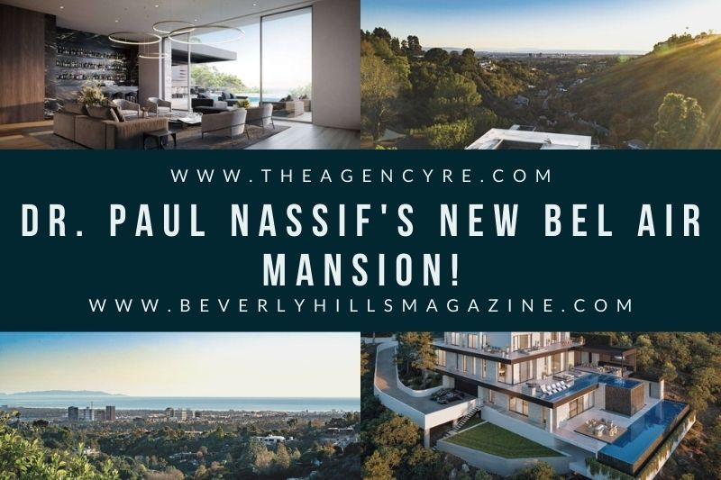 Beverly Hills Magazine Dr. Paul Nassif's Bel Air Mansion Social Media Image