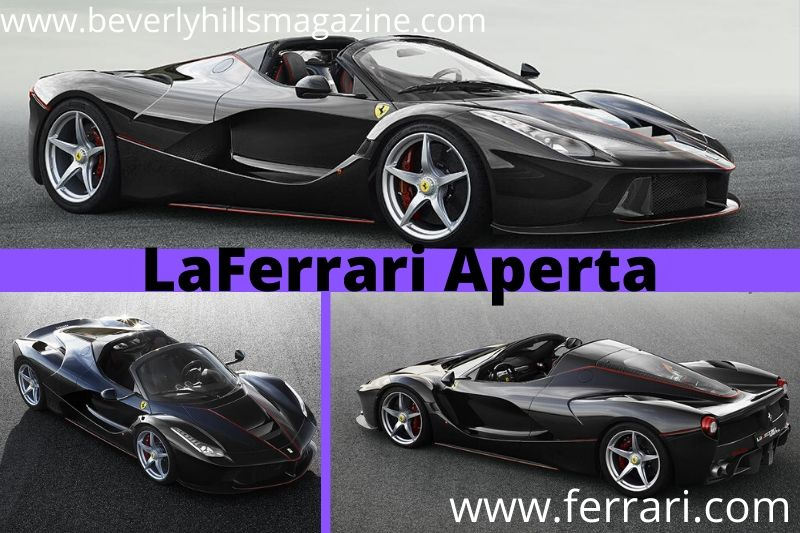 Evocative Ferrari Car The LaFerrari Aperta