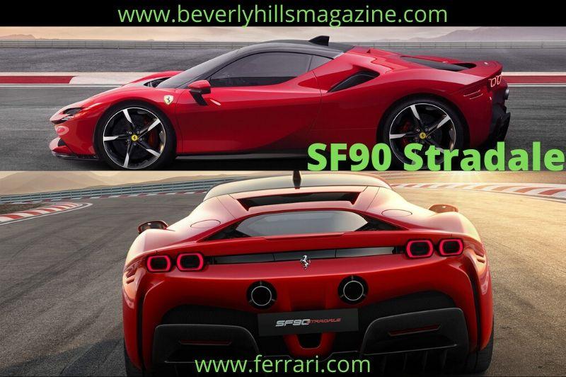 First-ever Ferrari Hybrid: The 2020 SF90 Stradale #luxurycars #dreamcars #coolcars #fastcar #cars #carmagazine #sportcars #hypercar #beverlyhillmagazine #beverlyhills #bevhillmag #ferrari #SF90Stradale
