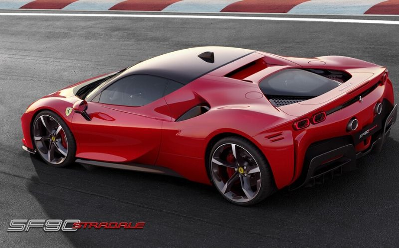 First-ever Ferrari Hybrid: The 2020 SF90 Stradale #luxurycars #dreamcars #coolcars #fastcar #cars #carmagazine #sportcars #hypercar #beverlyhillmagazine #beverlyhills #bevhillmag #ferrari #SF90Stradale