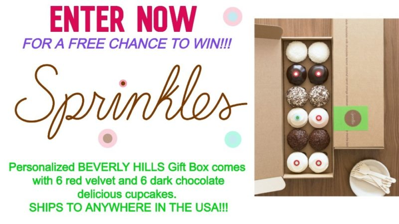 Beverly Hills Sprinkles Cupcakes GIVEWAY!!!