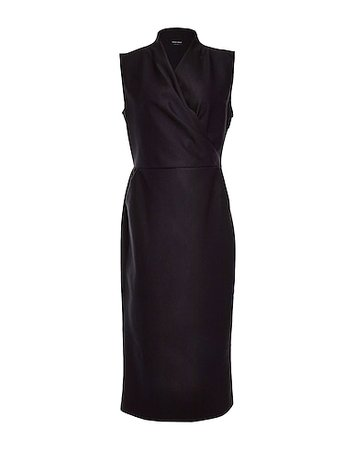 Beverly Hills Magazine Giorgio Armani Long Black Dress