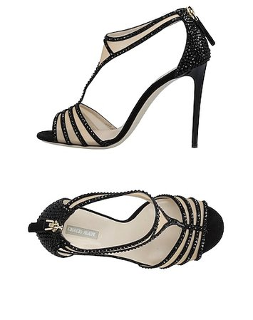 Beverly Hills Magazine Giorgio Armani Women Sandals