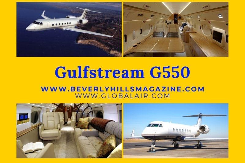 Private Jet: The Gulfstream G550 #bevhillsmag #privatejet #jet #gulfstream #gulfstreamG550