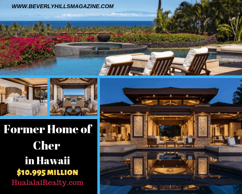 Former Home of Cher in Hawaii #dreamhomes #realestate #homesforsale #celebrityhomes #celebrityrealestate ##mansions #estates #beverlyhills #hawaii #cher #homesforsaleinLA #losangeles #beverlyhillsmagazine #luxury #exclusive #luxurylifestyle #beautiful #life #beverlyhills #BevHillsMag @HuaLaiLaiRealty