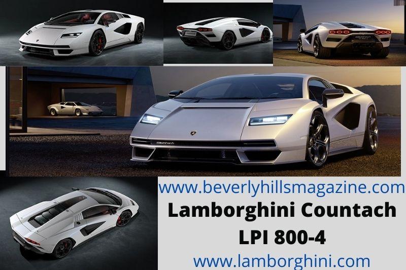 Iconic Sports Car: The Lamborghini Countach LPI 800-4 #beverlyhills #beverlyhillsmagazine #bevhillsmag #lamborghini #lamborghinicountach #2022lamborghinicountach #iconicsportscar #dreamcar #fastcar #supercar #carmagazine #coolcar #stylishcar