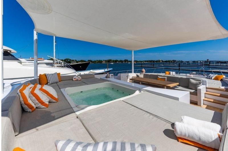 Iconic Yacht The Mangusta 165 E #beverlyhills #beverlyhillsmagazine #bevhillsmag #mangusta165E #overmarinegroup #luxuryyacht #iconicyacht #superyacht
