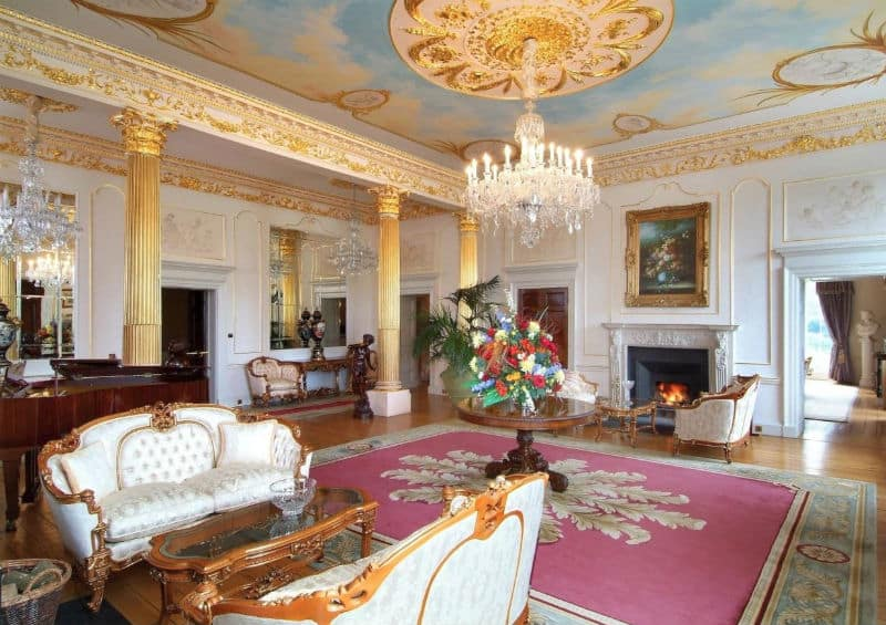 An Exquisite Dream #Home In Ireland #Ireland #realestate #irish #castle #castles #mansion #dream #homes #estates #beautiful #mansions #homesweethome #luxuryhomes #dreamhomes #homesforsale #luxurylifestyle #beverlyhills #BevHillsMag