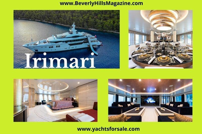 Beverly Hills Magazine Irimari Luxury yacht Best yacht to cruise on