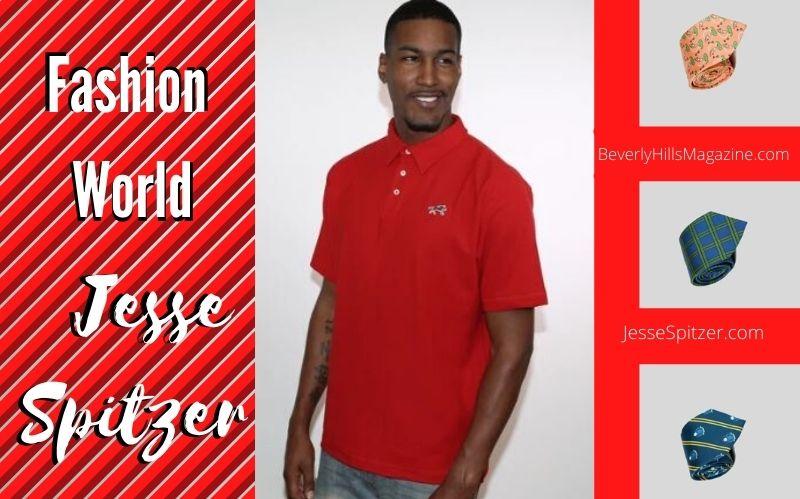 Fashion World: Jesse Spitzer #beverlyhills #beverlyhillsmagazine #jessespitzer #mensfashion #fashion #style #polo #tie #silktie