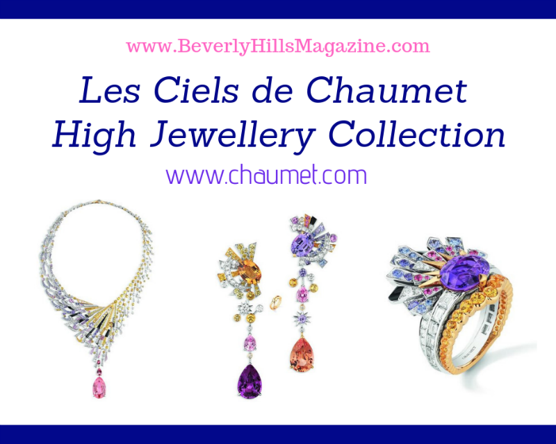 Les Ciels de Chaumet High Jewellery collection #jewellery #diamonds #rings #gems #jewels #jewelry #beverlyhills #bevhillsmag #beverlyhillsmagazine