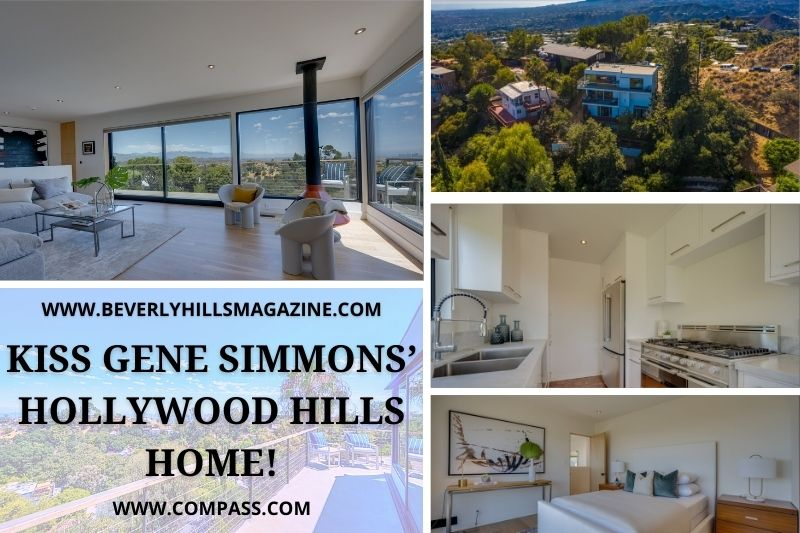 KISS Gene Simmons' Hollywood Hills Home!: #beverlyhills #beverlyhillsmagazine #bevhillsmag #genesimmons #hollywoodhomes #LAhomes #genesimmonshome #celebrity #luxury #luxuryhome #vacationhome