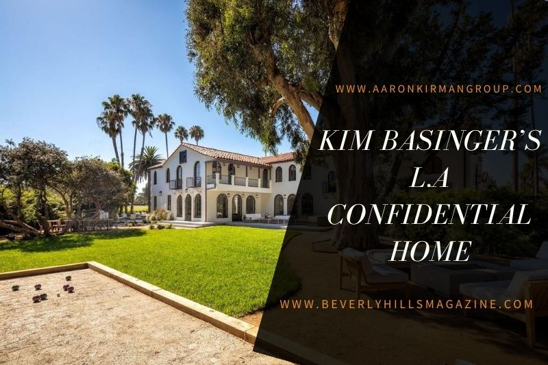 Kim Basinger's L.A Confidential Home:#beverlyhills #beverlyhillsmagazine #kimbasinger #laconfidential #celebrityhomes #luxuryhomes #celebrities #losangeles #luxury