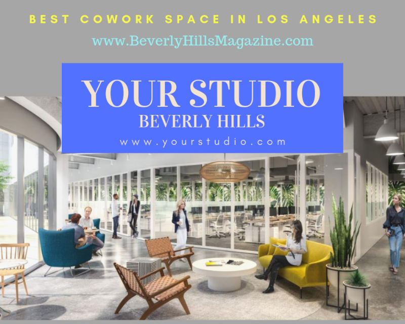 Luxury Coworking Space at Your Studio Beverly Hills in Los Angeles