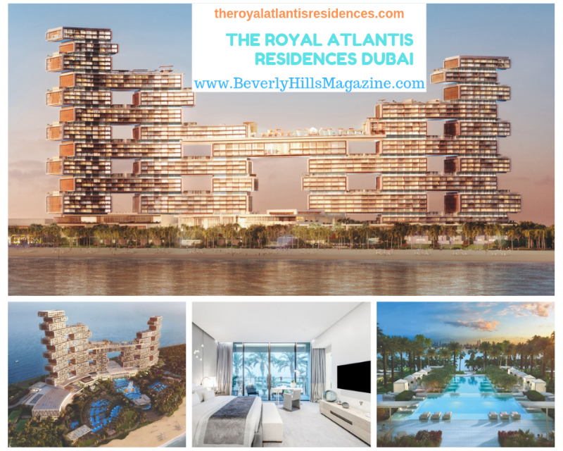 Dubai's Best Luxury Homes: The Royal Atlantis Residences #DUBAI #BEVERLYHILLS #DREAMHOMES #LUXURY #HOMES #beverlyhillsmagazine #bevhillsmag #royal #royalatlantis