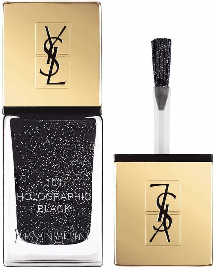 YSL Black Nail Polish. BUY NOW!!! #beverlyhillsmagazine #bevhillsmag #beauty #nails
