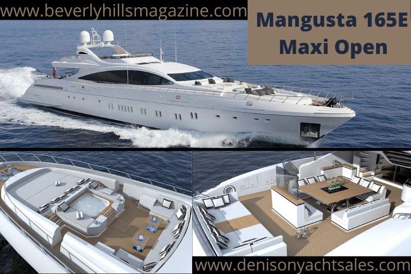 Luxury Sports Yacht: Mangusta Maxi Open 165E #beverlyhills #beverlyhillsmagazine #bevhillsmag #mangusta165 #mangustamaxiopen165 #maxiopen165E #luxurysportsyacht #luxuryyachts #yachting #yachtlife