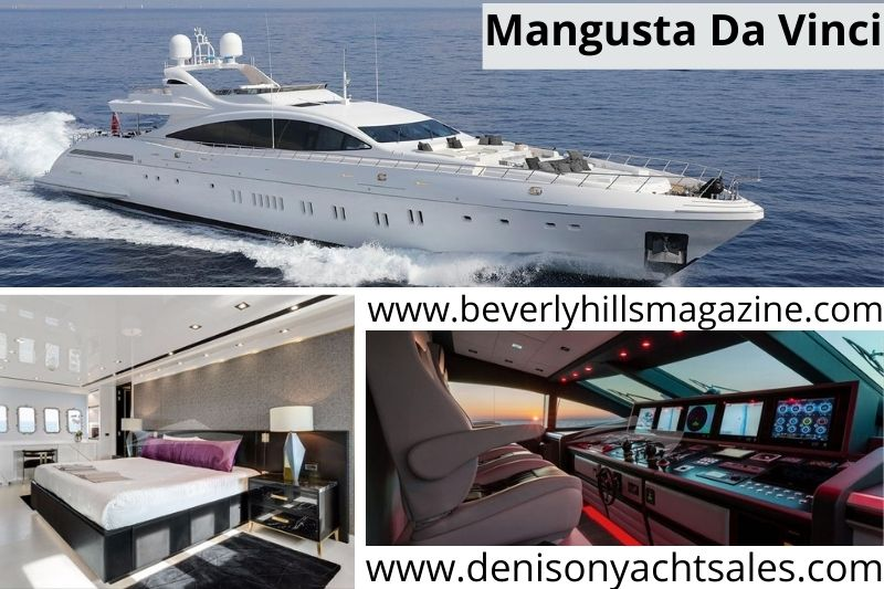Luxury Superyacht: The 164' Mangusta Da Vinci #beverlyhills #beverlyhillsmagazine #bevhillsmag #coolyacht #yachts #yachtlife #yachting #yachtcharter #luxurysuperyacht #Davinci #164'mangustadavinciyachts #mangusta #overmarine