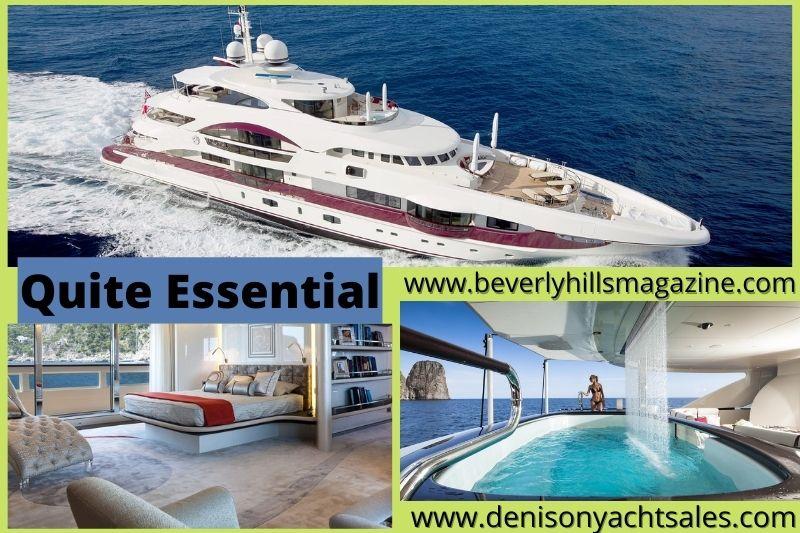 Luxury Superyacht: Quite Essential from Heesen #Beverlyhills #beverlyhillsmagazine #heesenshipyaard #luxuryyacht #luxuryyachtlife #yachting #yachts #worldsuperyachtawards #quiteessential #luxurysuperyacht