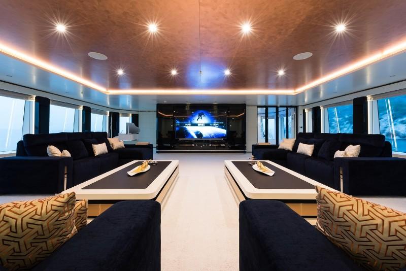 Beverly Hills Magazine Luxury Yacht Irimari Interior