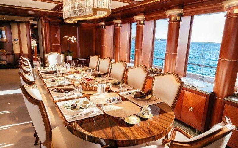 Luxury Yacht from Delta Marine: My Seanna #beverlyhills #beverlyhillsmagazine #MySeanna #deltamarine #luxuryyachts #yachting #charteryacht #luxurysuperyacht #yactingvessels #yachtlife #yachts #bevhillsmag