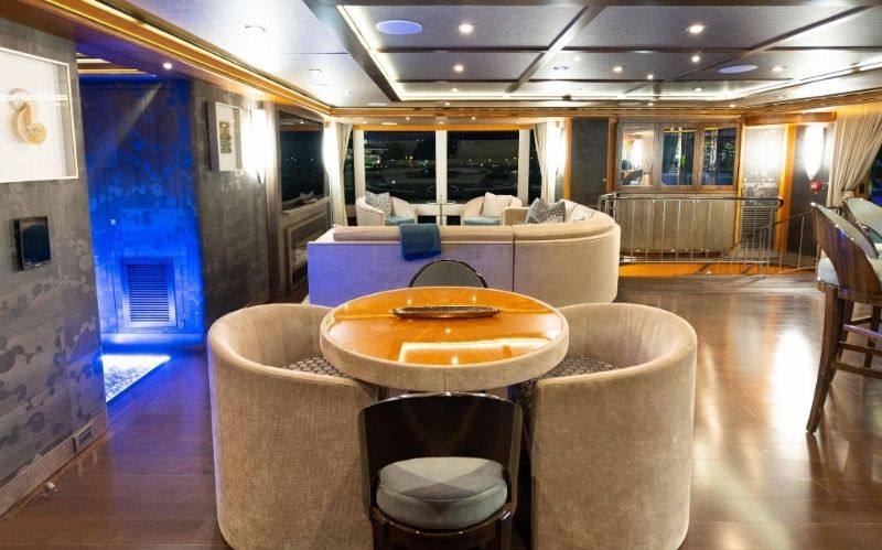 Luxury Yachting Vessel: The Serenity 133' #IAGYachts #Terrazza133vessels #Noblestarseries #beverlyhills #beverlyhillsmagazine #serenity #serenity133' #luxury #yachting #yacht #yachts #yachtlife #superyacht #motoryacht