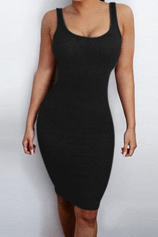 Beverly Hills Magazine Maisie Eden Black Dress