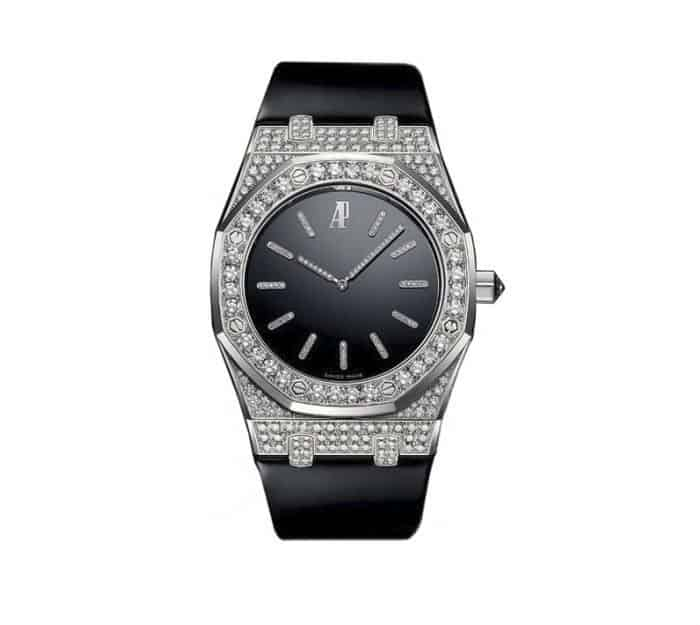 Audemars Piguet Royal Oak Tuxedo Diamond Watch. BUY NOW!!! #beverlyhills #watches #shop #jewelry #watch #bevhillsmag #bevelryhillsmagazine