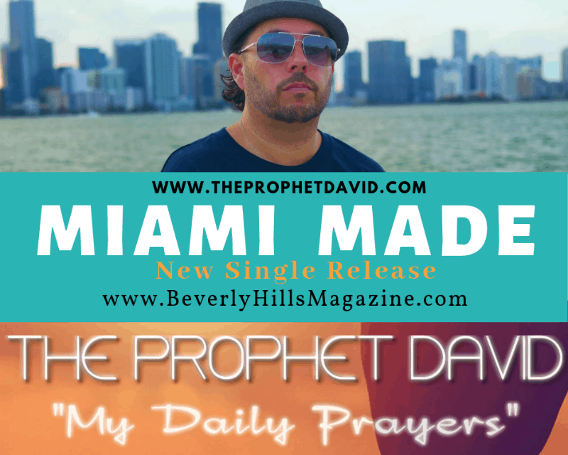 Miami Made: The Prophet David #music #hiphop #albums #newartists #cool #musicians #miami #miamimade #prophet #beverlyhills #theprophetdavid #beverlyhillsmagazine #bevhillsmag