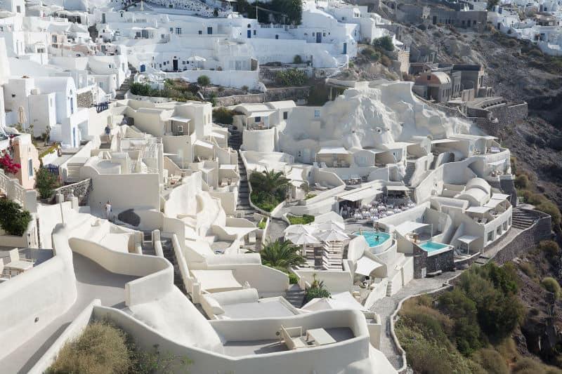 Mystique #Resort in Santorini Greece #vacation #travel #bucketlist #exclusive #luxury #island #vacations #beverlyhills #beverlyhillsmagazine #ocean #fivestar #greece #hotels #greek #islands #beaches #santorini