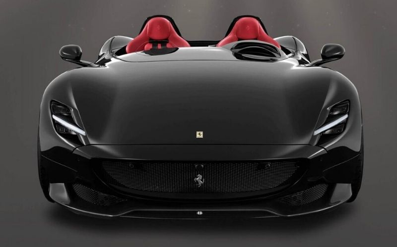 New Luxury Car The Ferrari Monza Sp2 Beverly Hills Magazine