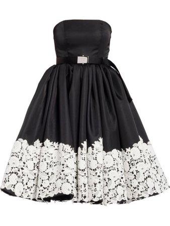 Beverly-Hills-Magazine-Prada-Black-White-Dress