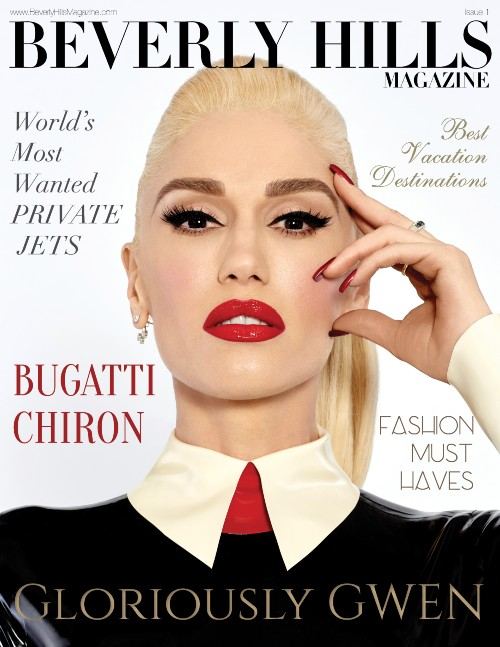 Gwen Stefani Cover Beverly Hills Magazine