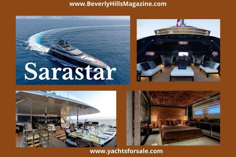 Beverly Hills Magazine Sarastar Best yacht vessel to cruise on