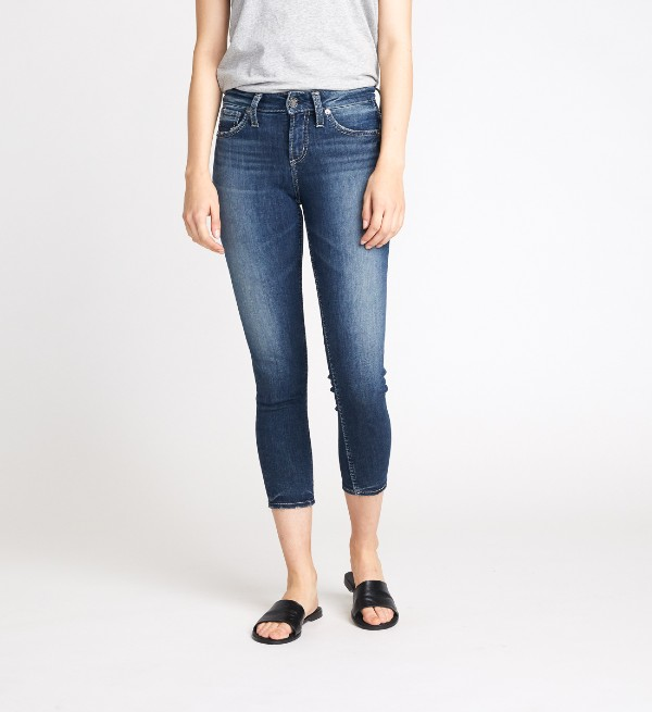 Beverly Hills Magazine Silver Jeans Co Avery Skinny Crop
