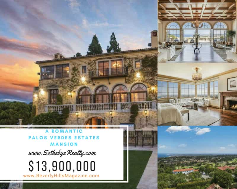 A Romantic Palo Verdes Estates Mansion #California #realestate #palosverdes #mansion #dream #homes #estates #beautiful #mansions #homesweethome #luxuryhomes #dreamhomes #homesforsale #luxurylifestyle #beverlyhills #BevHillsMag