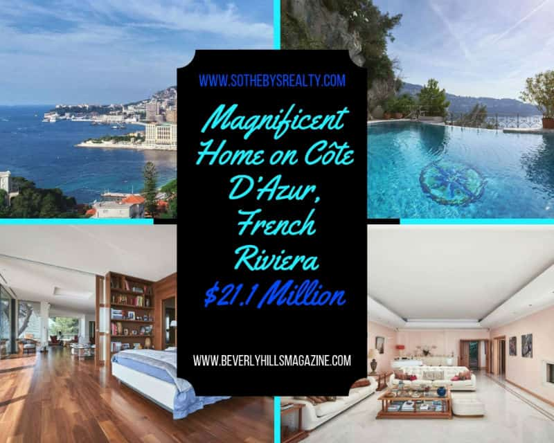Magnificent #Home on Côte D'Azur, Monaco #french #realestate #frenchriviera #mansion #dream #homes #estates #beautiful #mansions #homesweethome #monaco #luxuryhomes #dreamhomes #homes #homesforsale #luxurylifestyle #beverlyhills #BevHillsMag