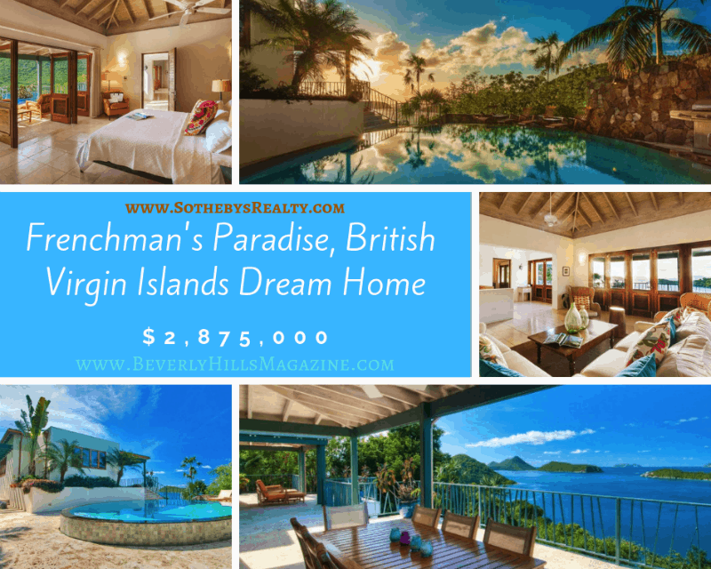 Frenchman's Paradise, British Virgin Islands Dream Home $2,875,000 ❤️ #Caribbean #dreamhomes #britishvirgnislands #realestate #homesforsale #beachhomes #beverlyhills #beverlyhillsmagazine #island #luxury #exclusive #luxurylifestyle #beautiful #life #beverlyhills #BevHillsMag