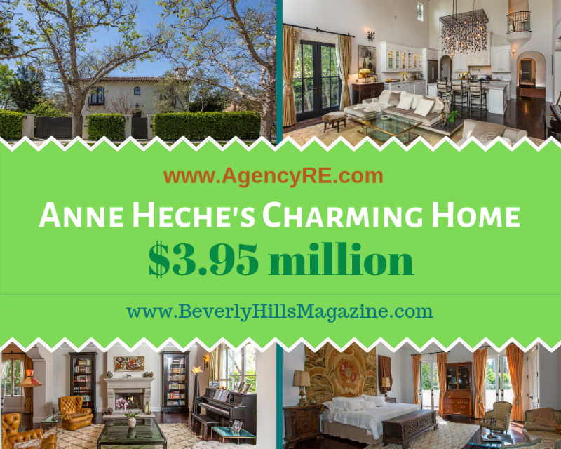 Anne Heche's Charming Los Angeles Home #anneheche #luxury #realestate #homesforsale #celebrity #celebrityhomes #celebrityrealestate #realestate #dreamhomes #beverlyhills #bevhillsmag #beverlyhillsmagazine