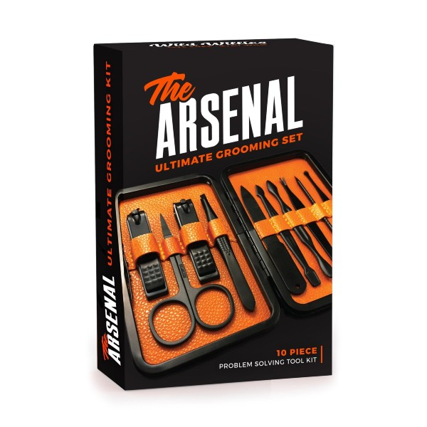 Beverly Hills Magazine The Arsenal Ultimate Grooming Set Cool Gifts For Friends And Family