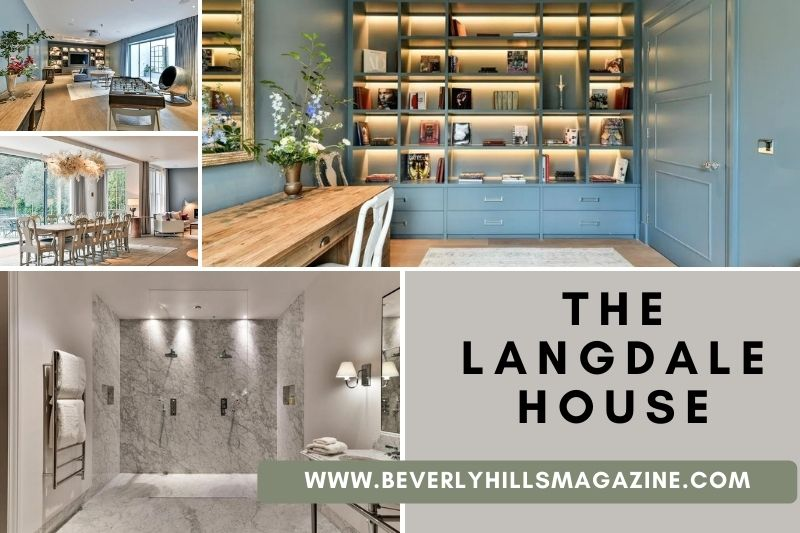 Beverly Hills Magazine The Langdale House— The Perfect Family Home In London #bevhillsmag #london #unitedkingdomproperty #realestateinlondon #langdalehouse #perfectfamilyhouseinlondon #housewithlargespaceinlondon