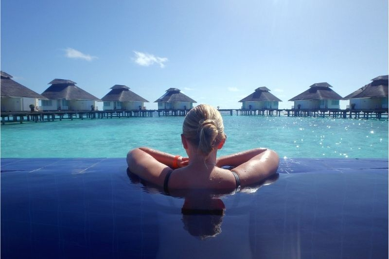 The Most Luxurious Vacation Spots in the World #beverlyhills #beverlyhillsmagazine #bevhillsmag #travel #luxuriousvacation #dubai #maldives #exumasisland #frenchriviera #beautifuldestination