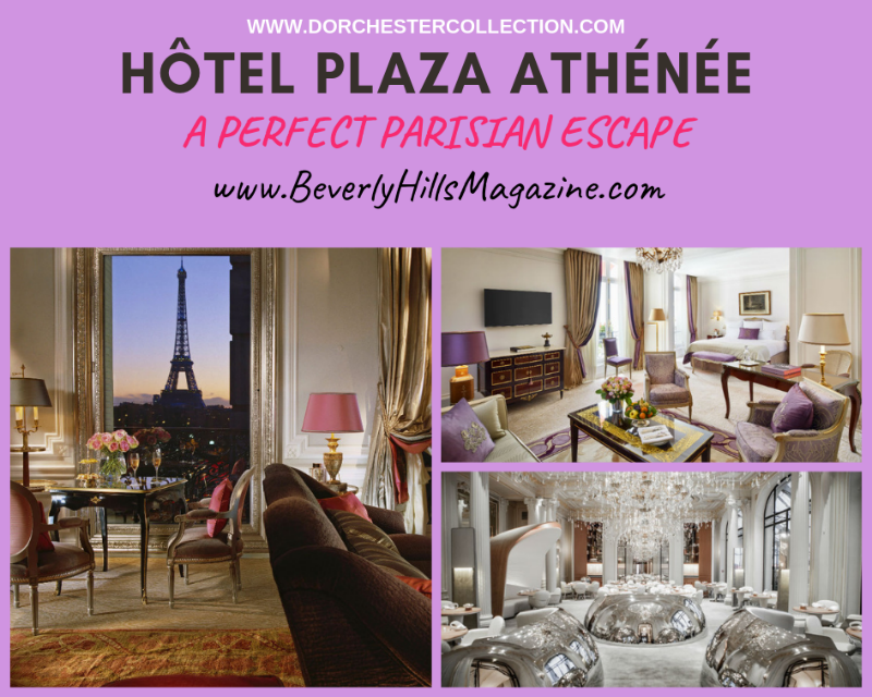 Hôtel Plaza Athénée: Paris Vacation Meets Fashion #travel #paris #fivestarhotels #vacation #fashion #beverlyhills #beverlyhillsmagazine #BevHillsMag