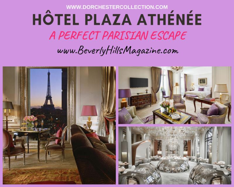 Hôtel Plaza Athénée: Paris Vacation Meets Fashion #travel #paris #fivestarhotels #vacation #fashion #beverlyhills #beverlyhillsmagazine #BevHillsMag