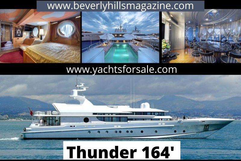 Ultimate Luxury Yacht: Thunder 164' Oceanfast #beverlyhills #beverlyhillsmagazine #bevhillsmag #thunder164' #oceanfast #ultimateluxuryyacht #superyacht