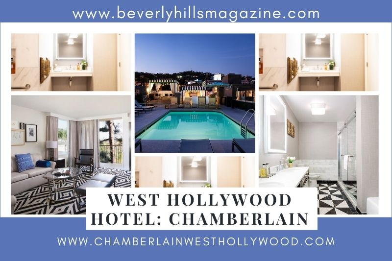 Beverly Hills Magazine West Hollywood Chamberlain Hotel #besthotelinwesthollywood #chamberlain #bevhillsmag #travel #vacation #soothemassage #dermalogica