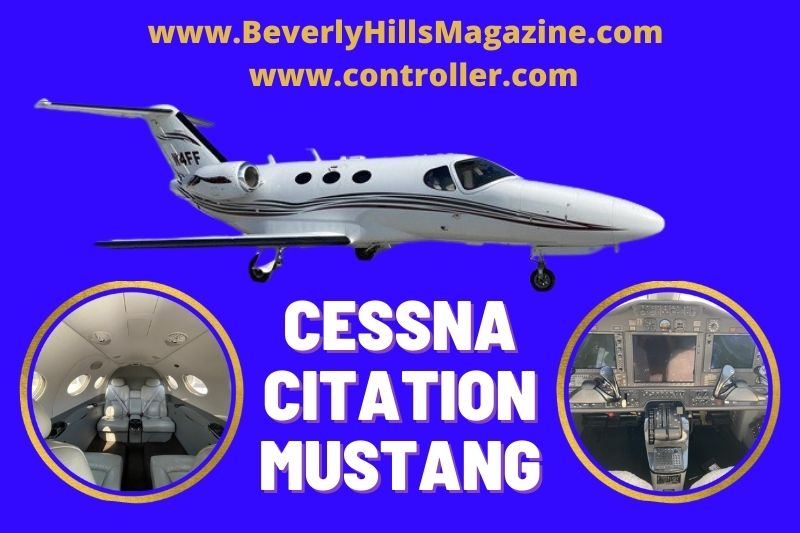 Private Jet: Cessna Citation Mustang #bevhillsmag #luxury #privatejet #businessjet #cessna #cessnacitationmustang