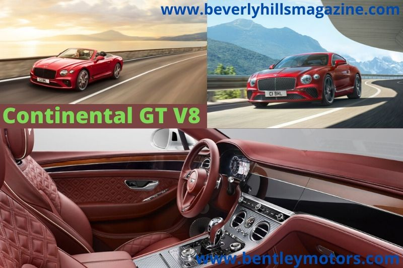 Bentley Continental GT V8 Cars for 2020 #dreamcars #fastcars #coolcars #luxurycars #cars #carmagazine #sportcars #bentley #continentalGT #bentleycontinentalGT #continentalGtconvertible #continentalGTcoupe #convertible #coupe