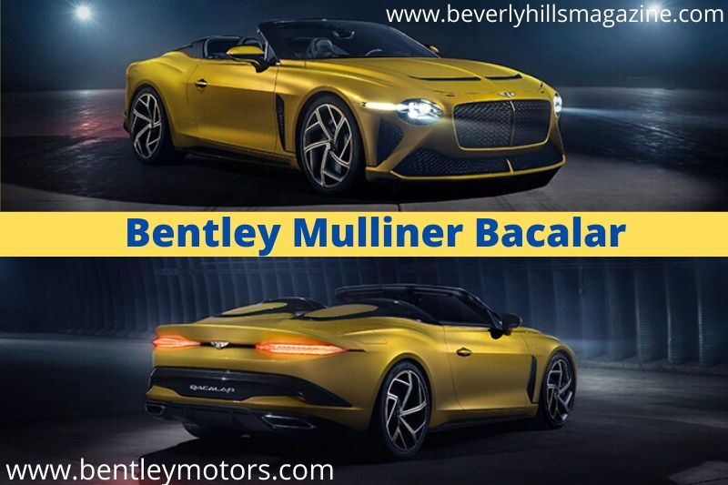 Luxury Car for the 2020 Era: The Bentley Bacalar #luxurycars #coolcars #fastcars #dreamcars #carmagazine #bevhillmag #beverlyhills #beverlyhillmagazine #bentley #bacalar #bentleymullinerbacalar #bentleybacalar #sportcars #beautifulcars